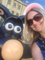 Miranda with Gromit